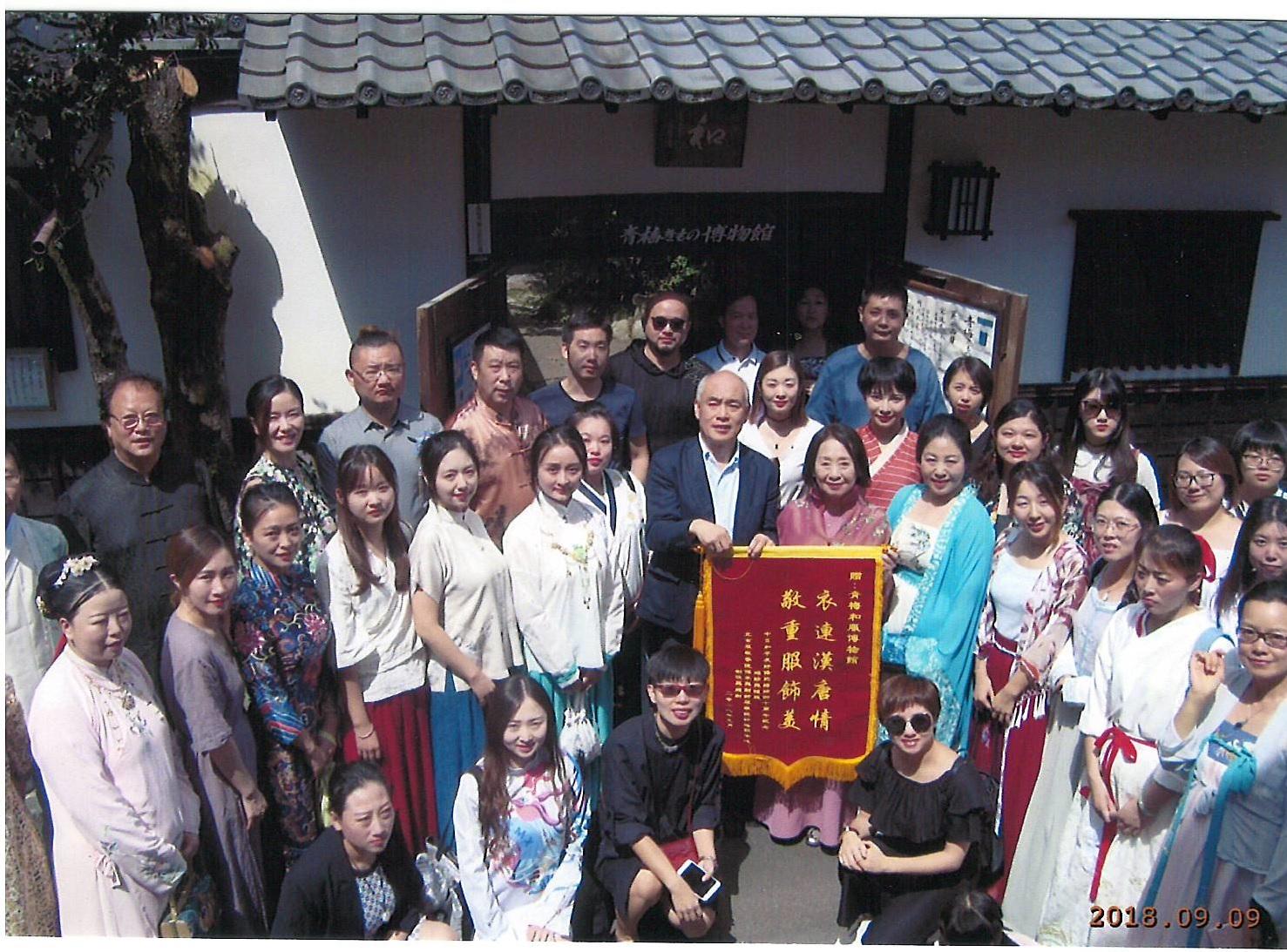 北京服装学院様ご来館のイメージ