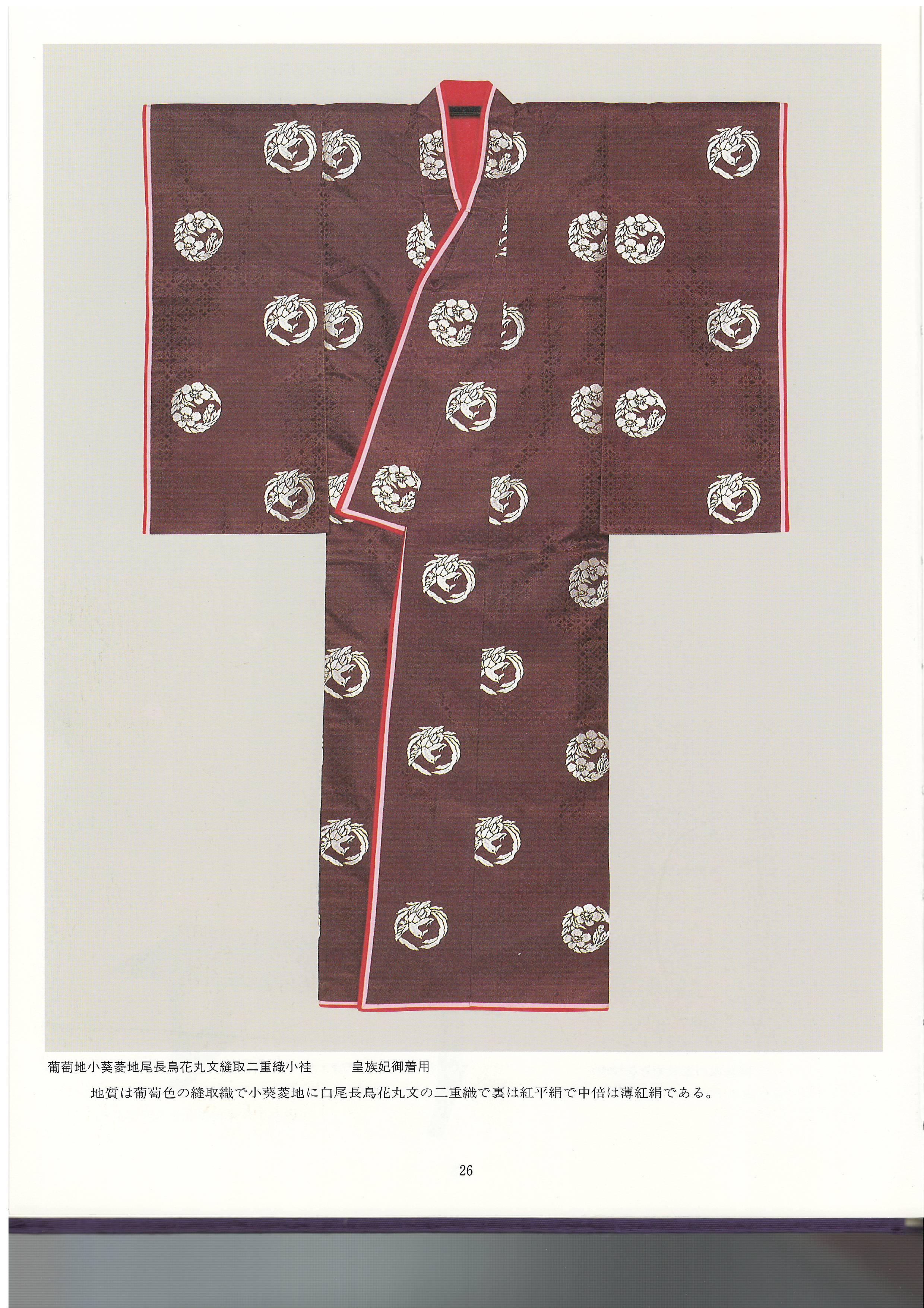 皇室衣裳展3月よりのイメージ