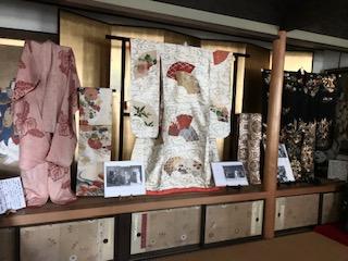 婚礼衣裳展開催中、10、11月のイメージ